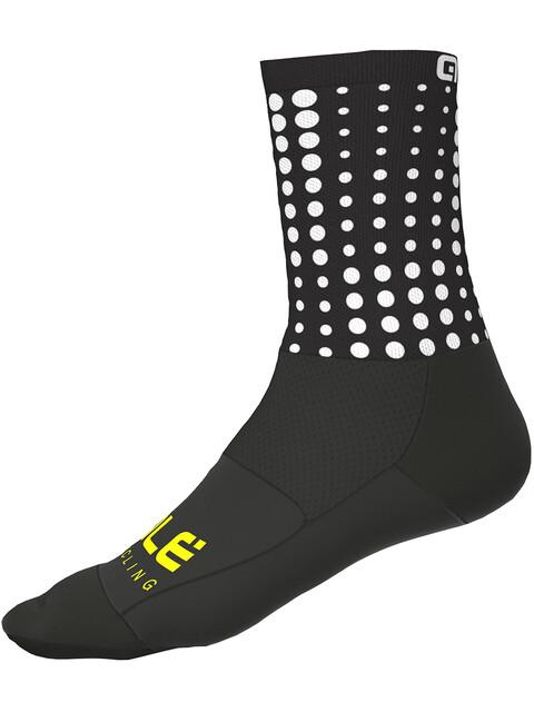 Alé Cycling Pois Socks 16cm black-white